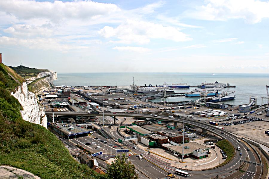 eastern docks at Dover