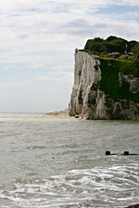 White cliffs at St Margaret's Bay