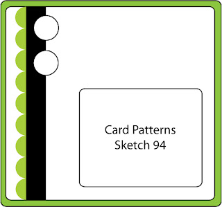 Wyzwanie Card Patterns Sketch 94