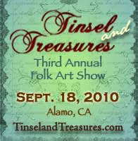Meet me in person at Tinsel and Treasures!