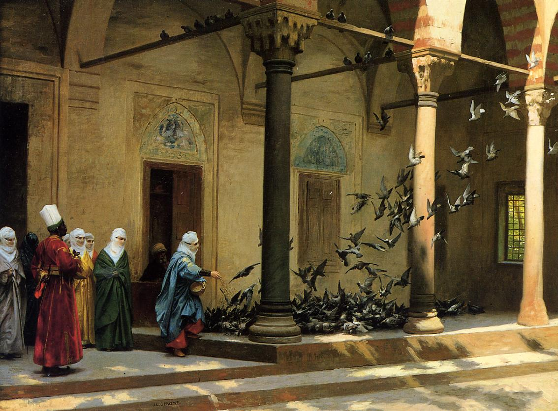 Rudolph Ernst - Harem Solg - Oil Paintings on Canvas