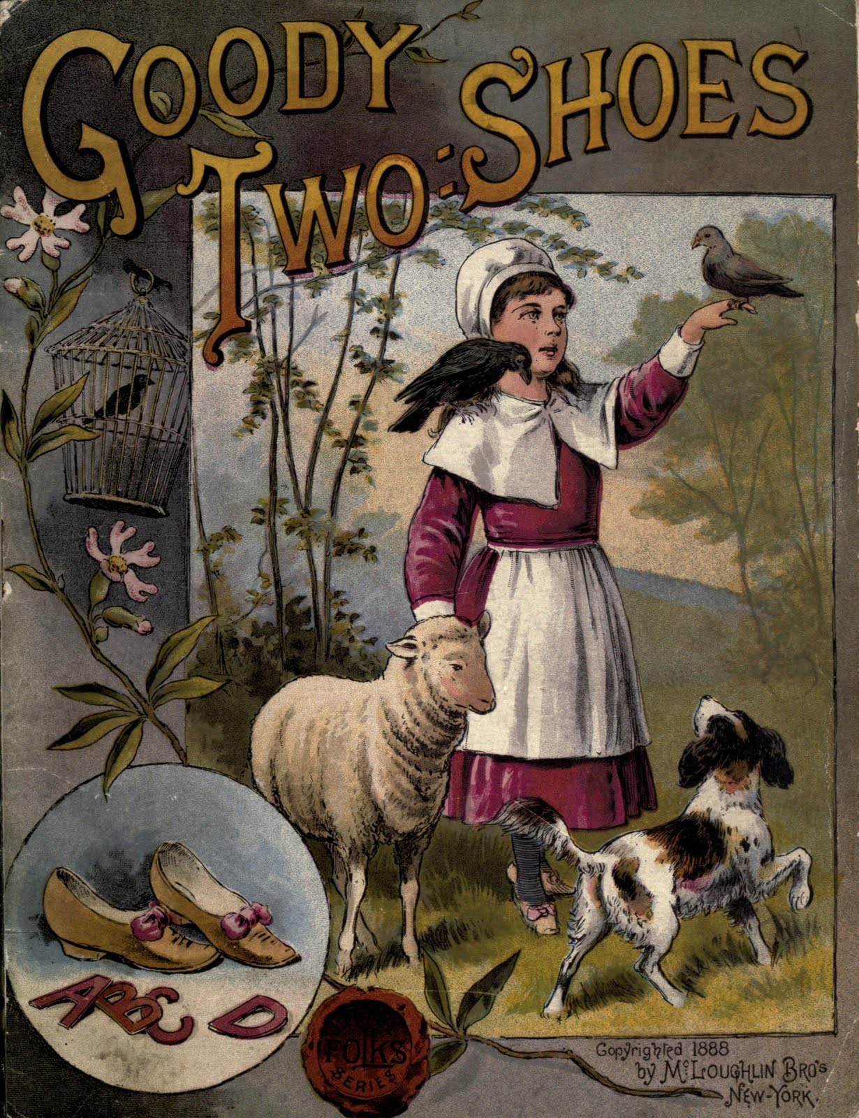 Book Cover Illustration History : Vintage ephemera illustrated children s book cover
