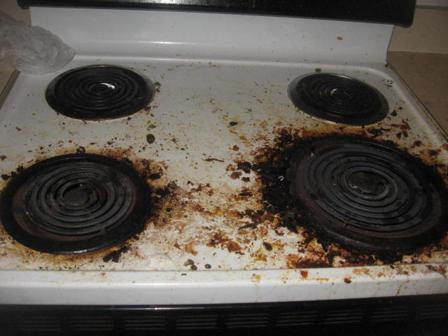 Maryland Cleaning Services: How to Clean a Dirty Stove