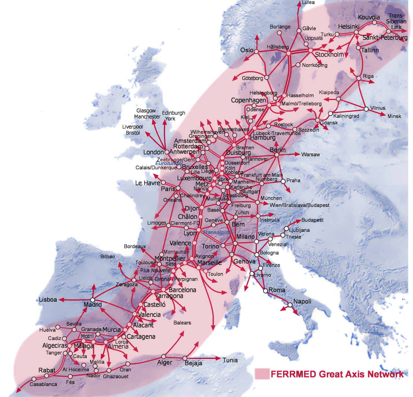 la comissio europea ha elaborat un document de treball corresponent a la consulta sobre la politica futura en relacio a la xarxa transeuropea de transport