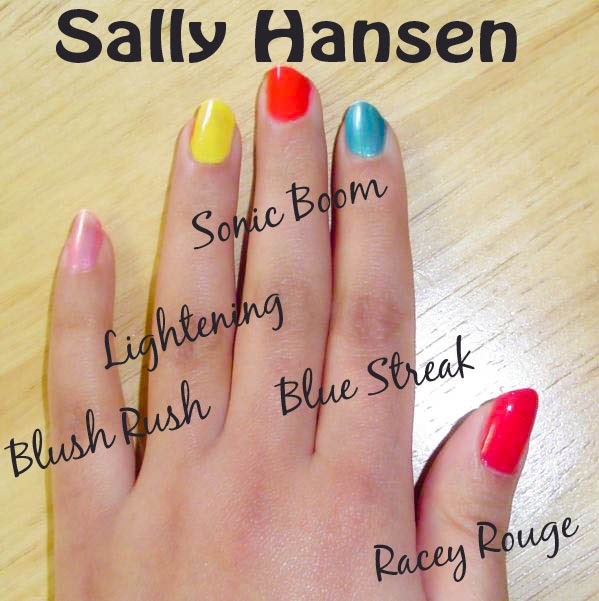 How Long To Let Nail Polish Dry Before Top Coat: An Indian's Makeup Blog!: Sally Hansen Insta-Dri Fast Dry