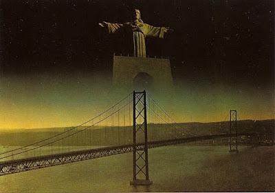 postal ponte e Cristo-rei