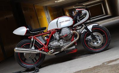 Fantastic Moto Guzzi Cafe