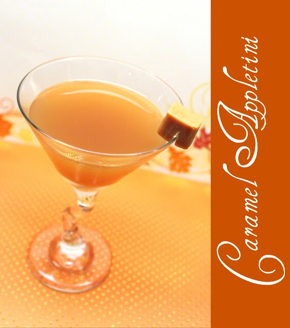 carameltini Autumn Cocktail Ideas