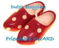 Mijn eerste blog award