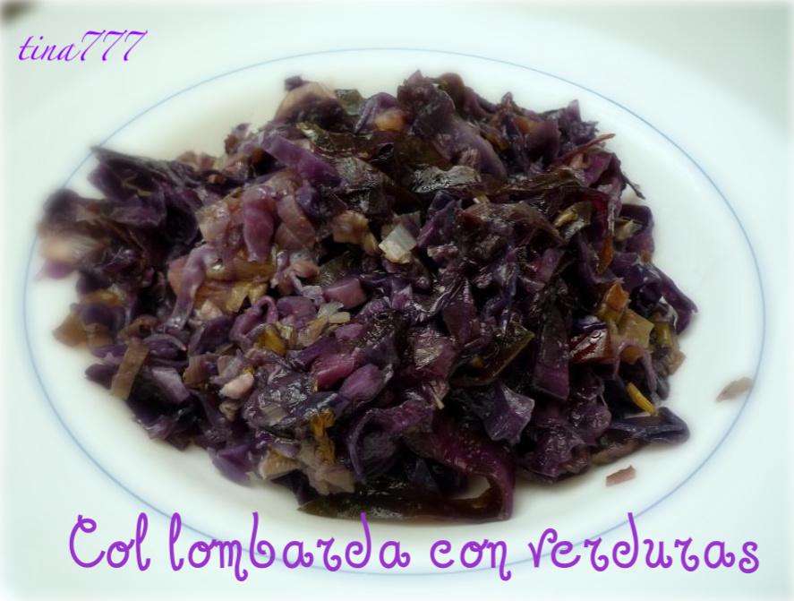 Col lombarda con verduras al rinc n de cocinar for Cocinar lombarda