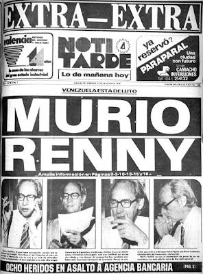 Imagenes que impactaron nuestra historia contemporanea. (Nacional e Internacional) MURIO_RENNY