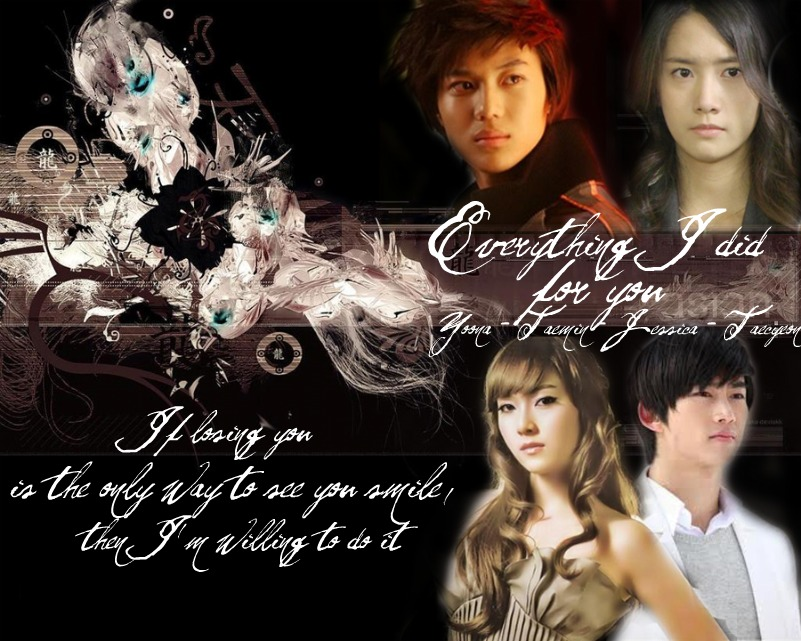 Everything I Did For You - 2pm romance shinee snsd ...