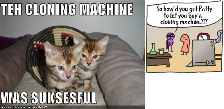 make cloning machine