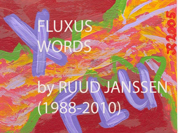 FLUXUS WORDS
