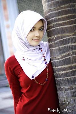 sexy beautiful girls jilbabcewek dengan jilbab itu seksi