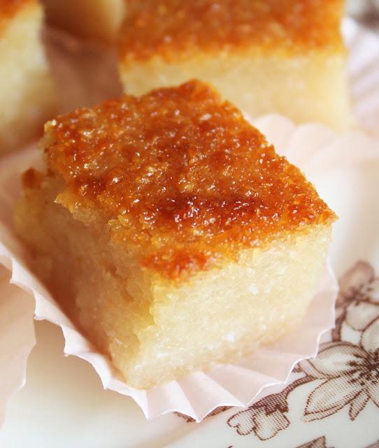 Filipino Cake Recipes With Pictures : Cherry on a Cake: CASSAVA CAKE ~ KUIH BINGKA UBI KAYU