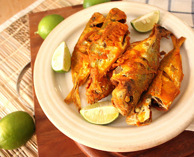 green crispy fish and green mango recipe green mango salad thai food ...