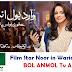 Film Star Noor Bukhari in New WARID AD
