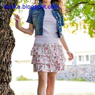 Платья с рукавами своими руками выкройки