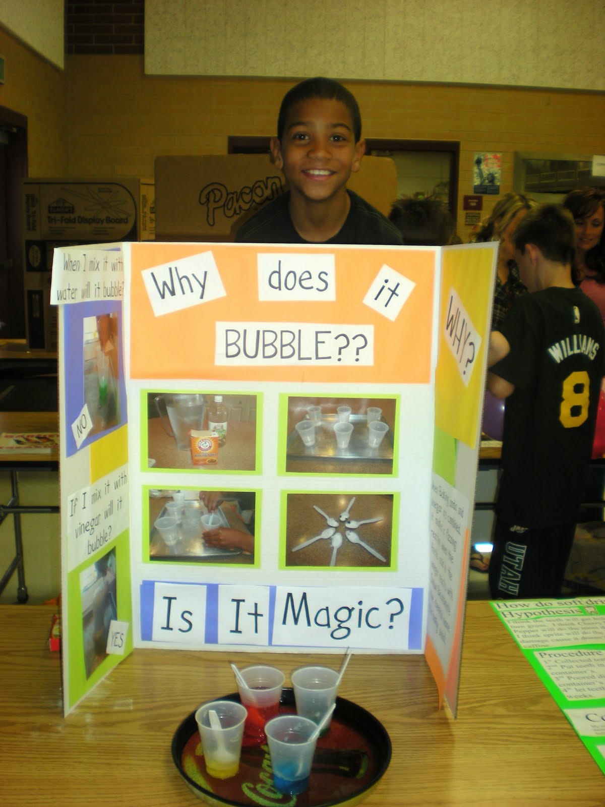 7 grade science fair projects Okay, well our science teacher is really strict and she gave us this 7th grade project thingy where you have to invent something or improve on something i have been thinking for about a month and a half now and i have nothing i am an a student so of course i really want to do well on this so you can bring it up to an 8th grade.