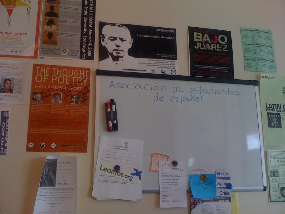 Anexo Literario de la Asociación de Estudiantes de Español (AEE)