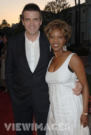 Alfre and her husband... go girl!