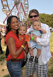 Garcelle and Michael after the babies..