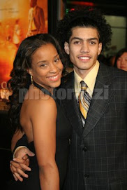 Rick Gonzalez and his lovely lady...