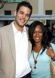 Actor Ivan Sergei and wife Tanya....