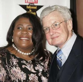 Roger Ebert and wife Chaz