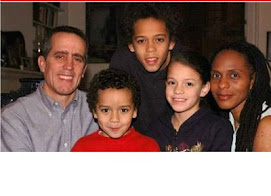 And another political contender with his black wife and family...