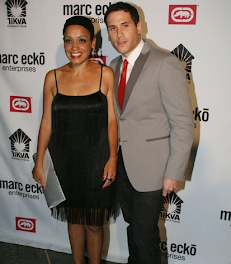 Clothing Entrepeneur Marc Ecko and his stunning wife...