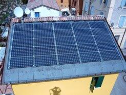 casa privata fotovoltaico