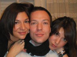 Stéphanie, Pierre et Camille, mes enfants