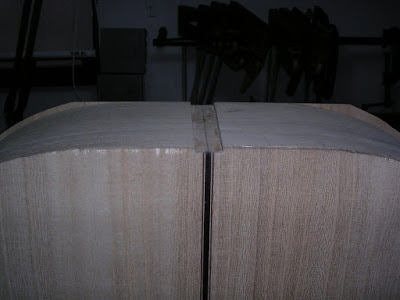End graft slot cut