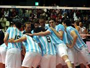 La Selección Argentina de voleibol, no deja de avanzaren el mundial que se . argentina saludo