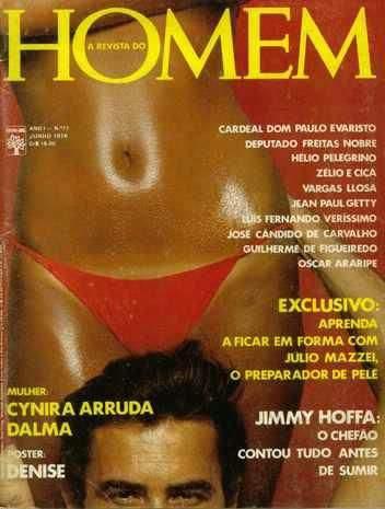 Cynara Arruda nua na Playboy 1976