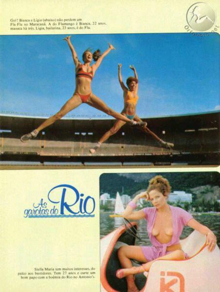 Playmate Garotas e Famosas - Playboy 1978