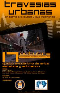 V Encuentro de Arte, Estética y Educación. Diseño Rodrigo Moscoso.