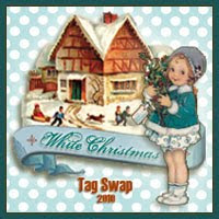 2010 White Christmas Tag Swap