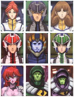 Robotech, la saga completa  Robotech_Character_Screens_by_UdonCrew