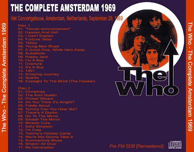 The Who The+Who+-+amsterdan69+Back