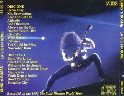 download cd guns n roses live in tokyo 1992