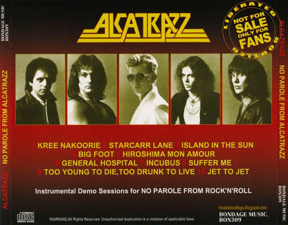 Alcatrazz No Parole From Rock N Roll