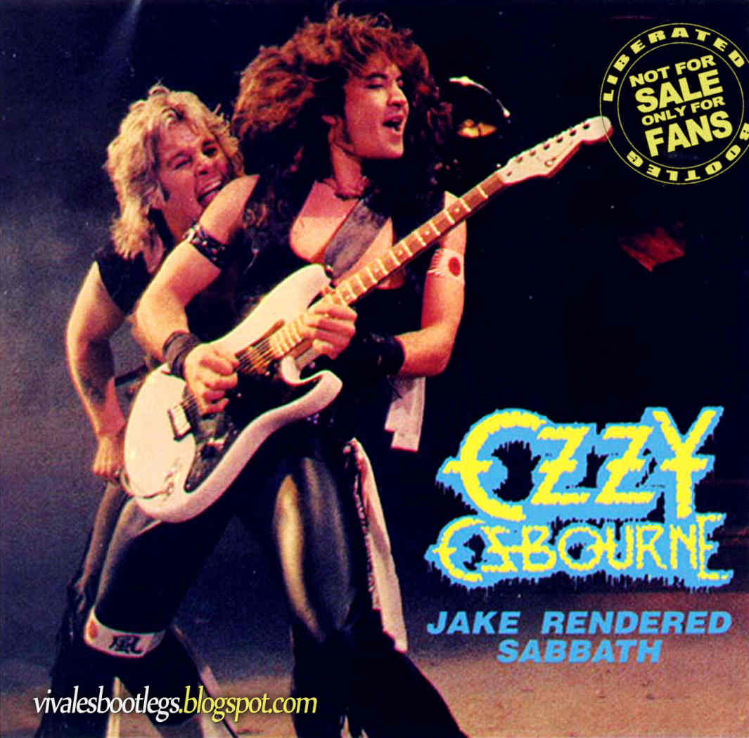 Ozzy Osbourne: Jake Rendered Sabbath. Le Colisee, Quebec ...