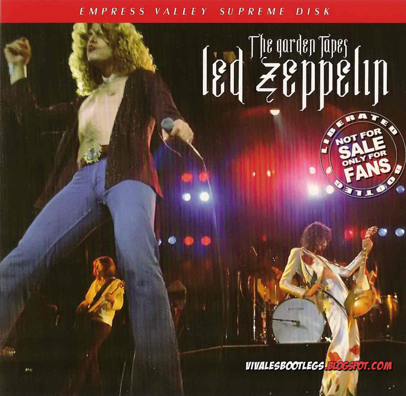 Led Zeppelin The Garden Tapes Madison Square Garden New