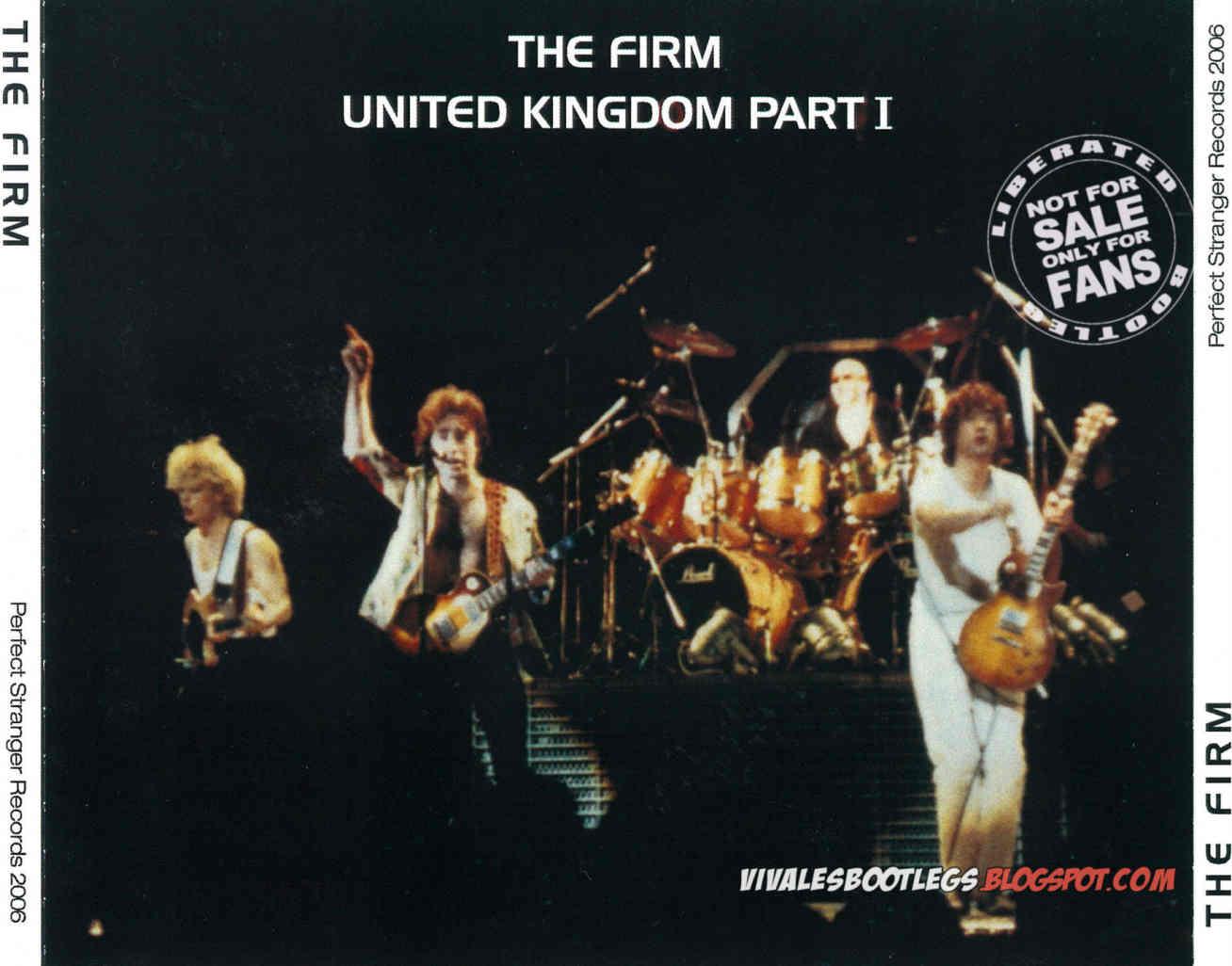 Par United Kingdom  City pictures : The Firm: United Kingdom Part I. Wembley Arena, Wembley 1985 ...