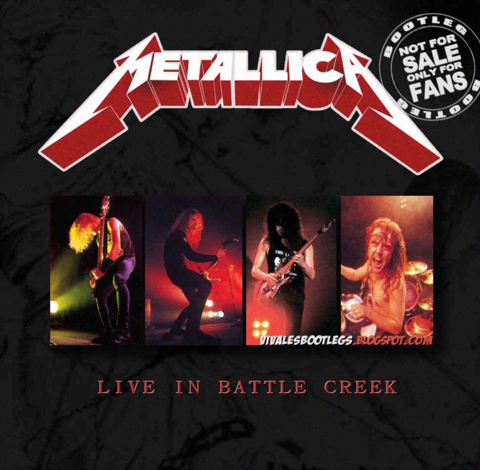 Metallica Live In Battle Creek Kellogg Arena Michigan USA