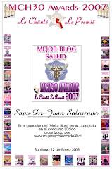 Mejor Blog Salud 2007