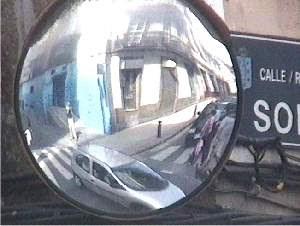 Espejos esfericos for Espejos esfericos convexos